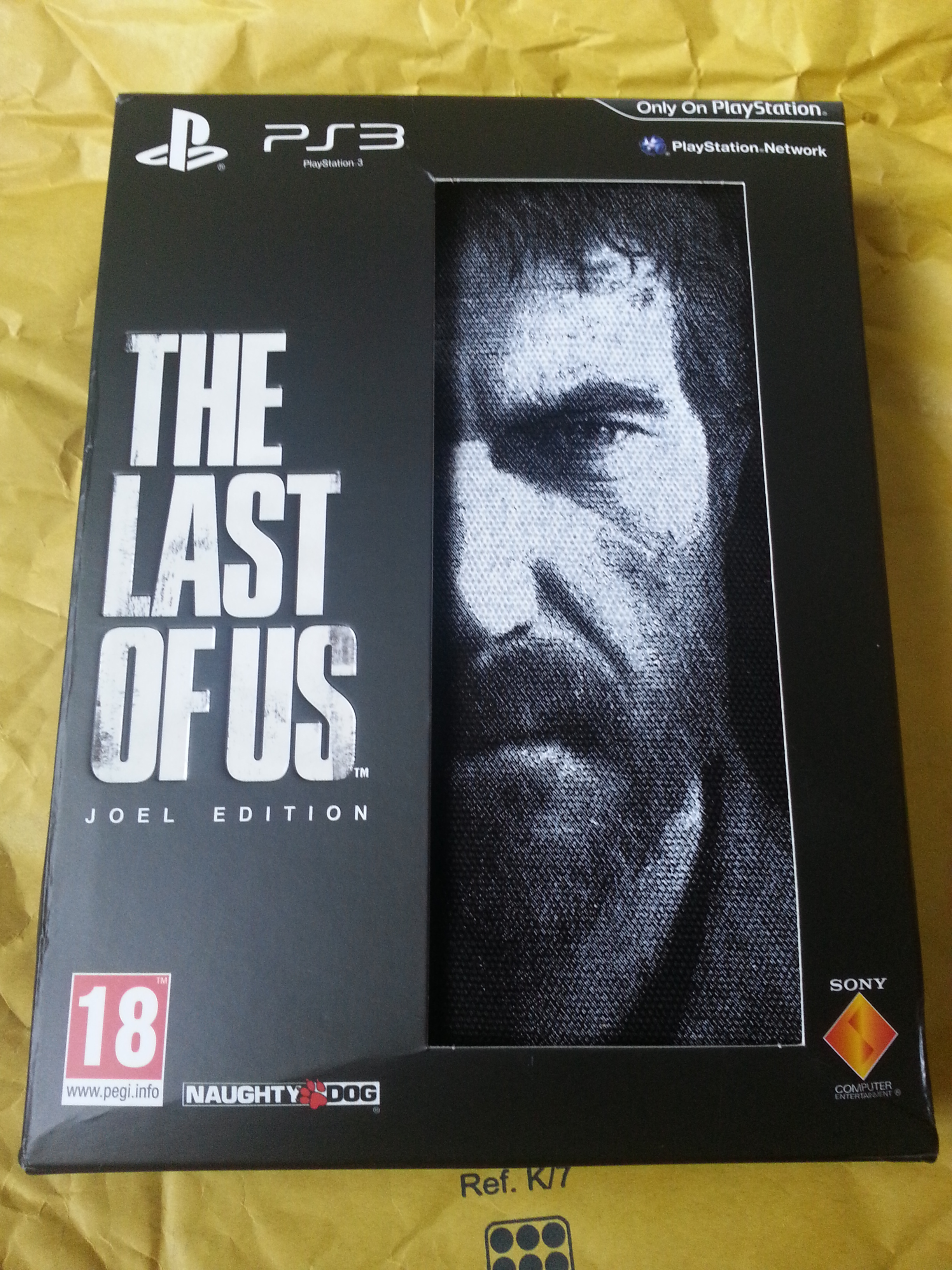 The Last of Us: Joel Edition - Unopened box