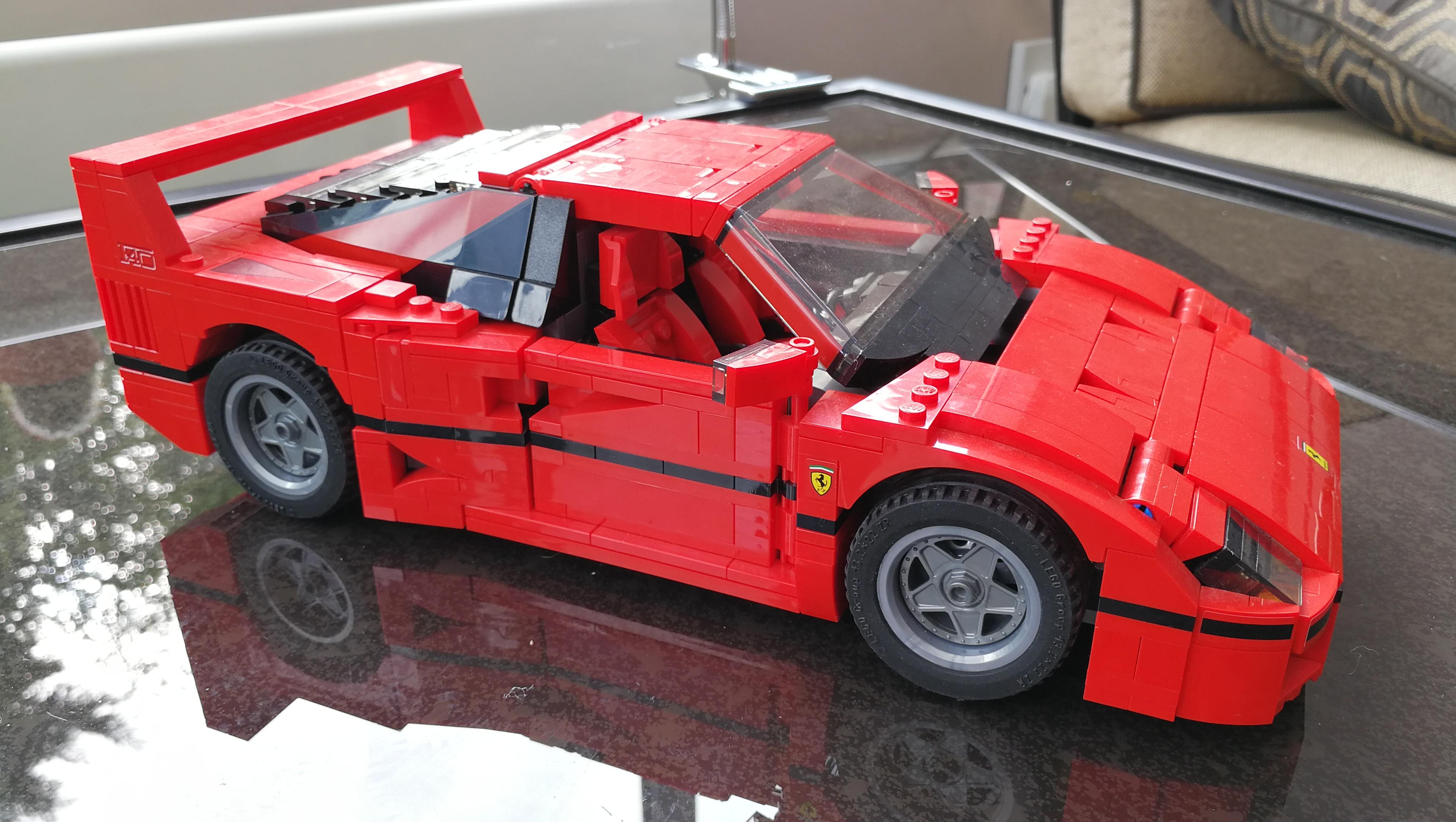 Lego Creator Ferrari F40 Build Lyonsden Blog
