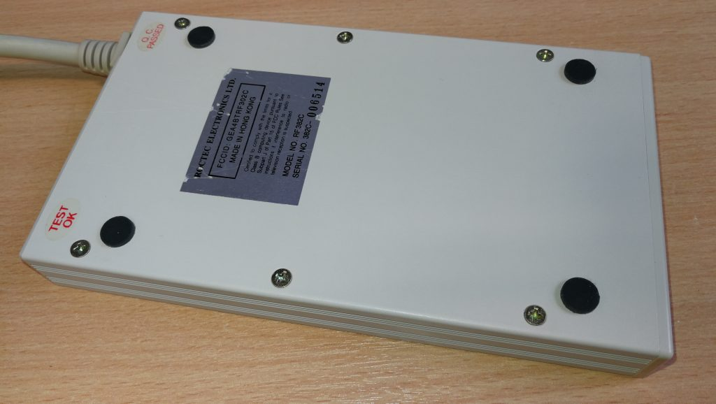 Underside of drive case