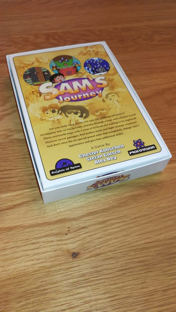 Sam's Journey Box Back