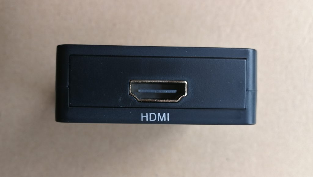 Commodore 64 video over HDMI