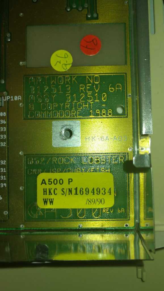 1MB Chip RAM Mod