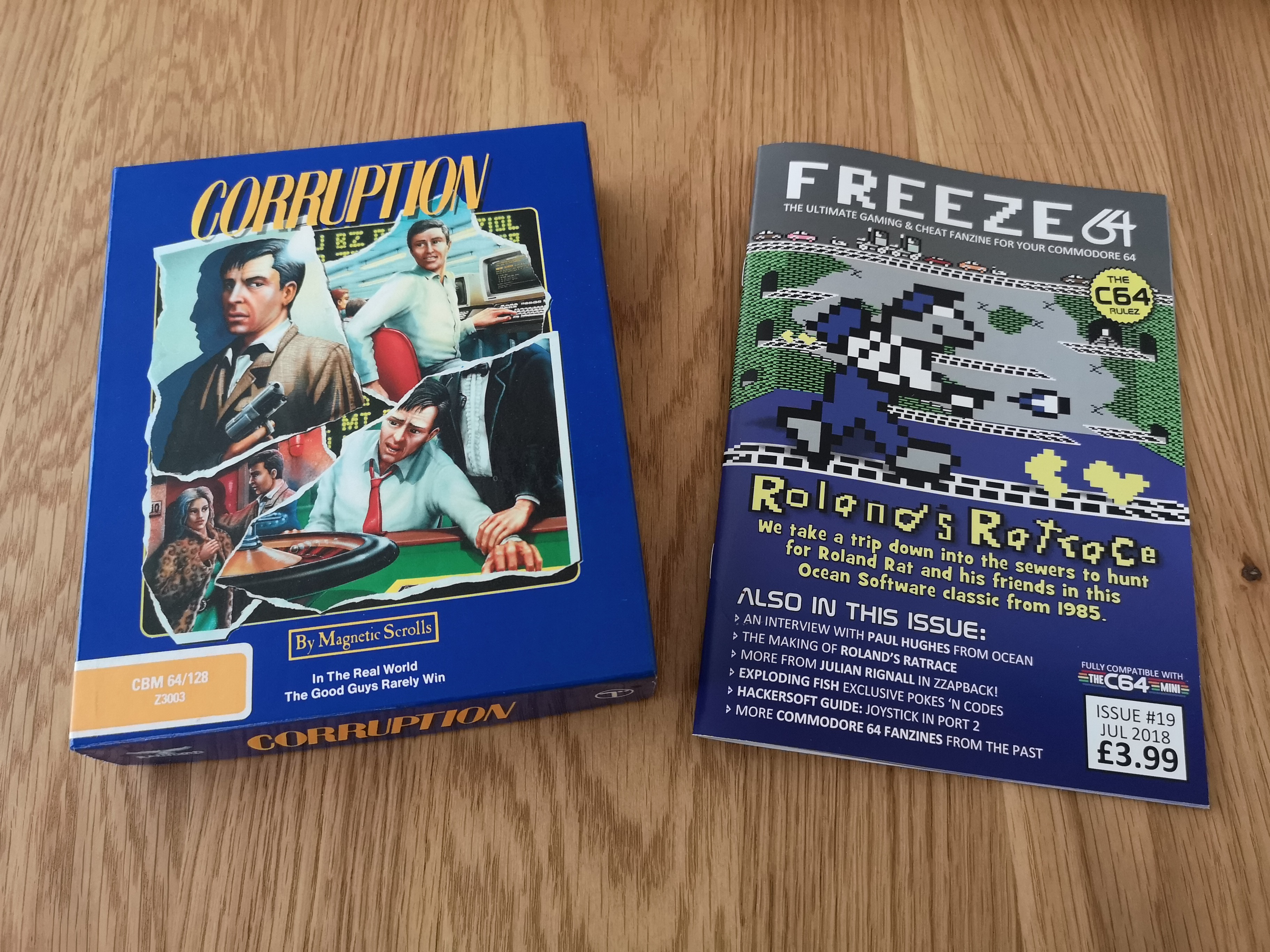 Freeze64 & Corruption