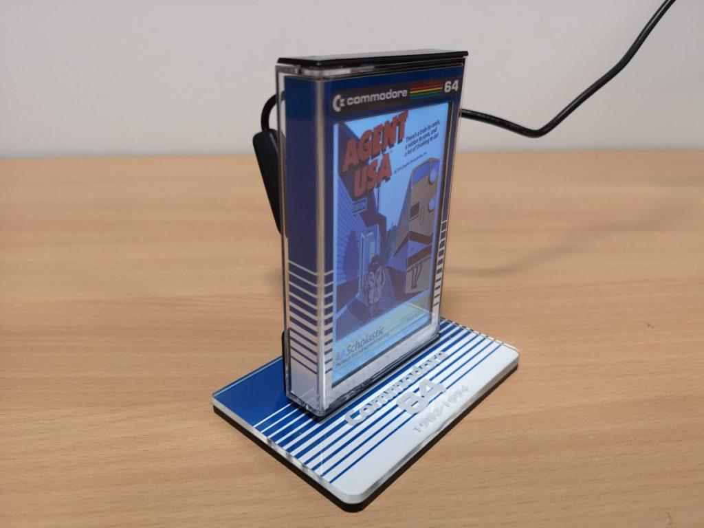 C64 LCD Cassette Slideshow