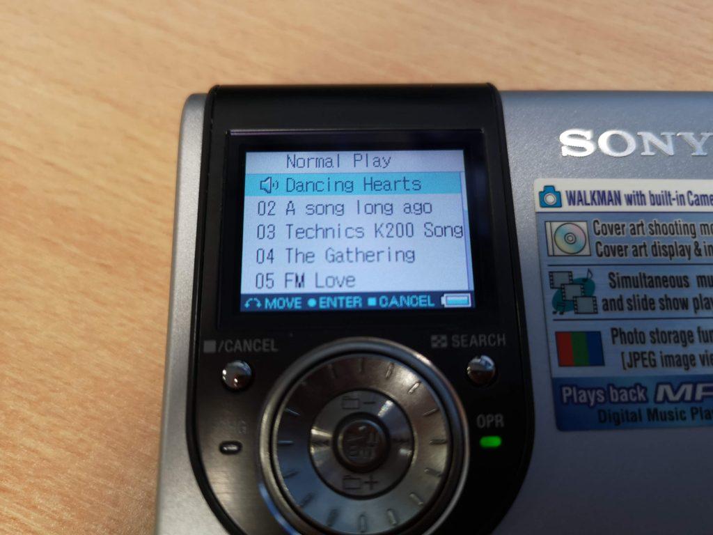 Retro Grooves MiniDisc