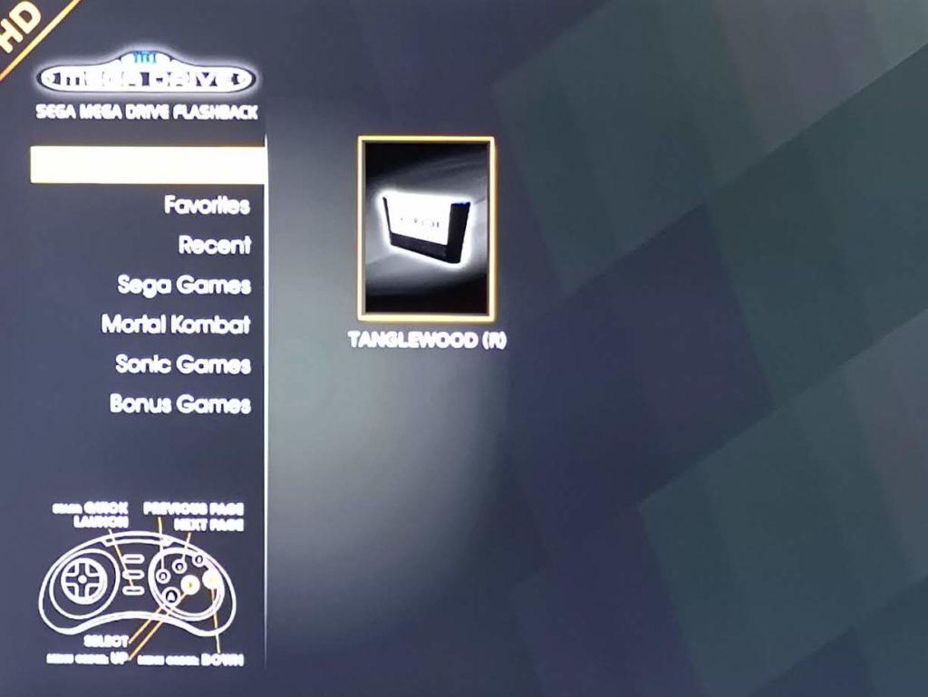 Tanglewood Mega Drive