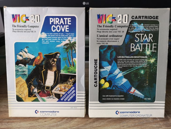 VIC20 Pirate Cove & Star Battle