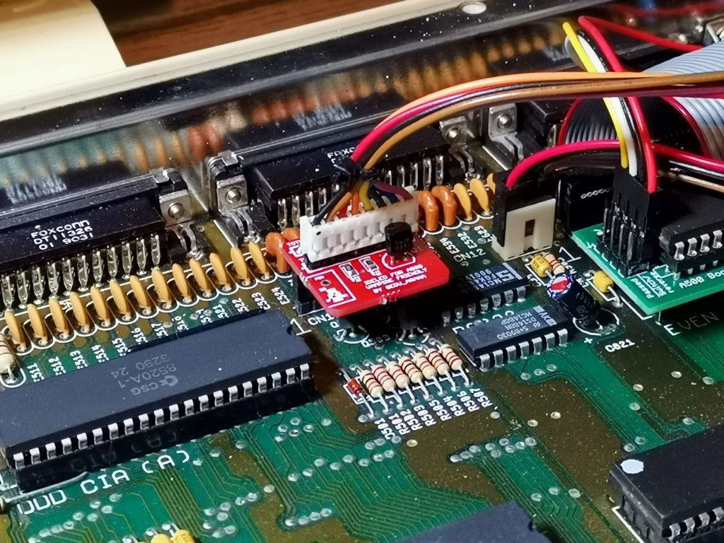Amiga IDELED board