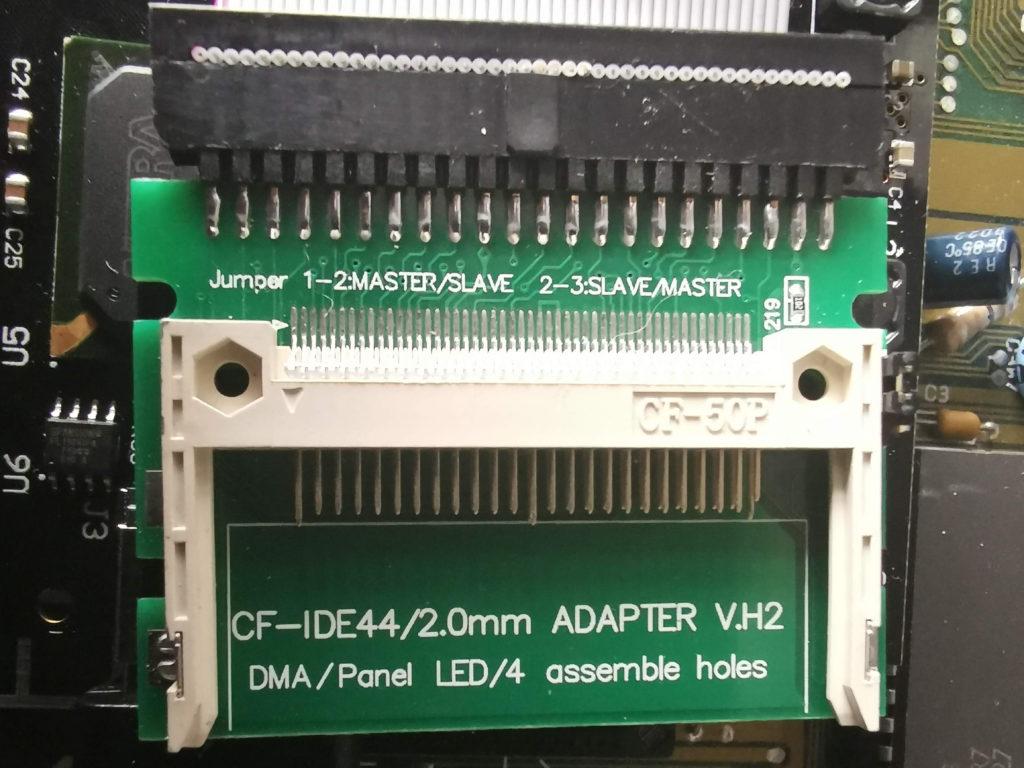 Amiga Compact Flash IDE adapter