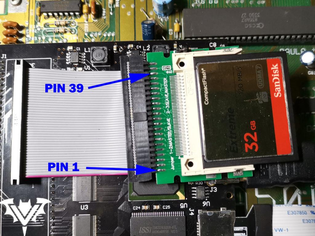 Modding Amiga 500 Floppy LED to Display IDE Activity