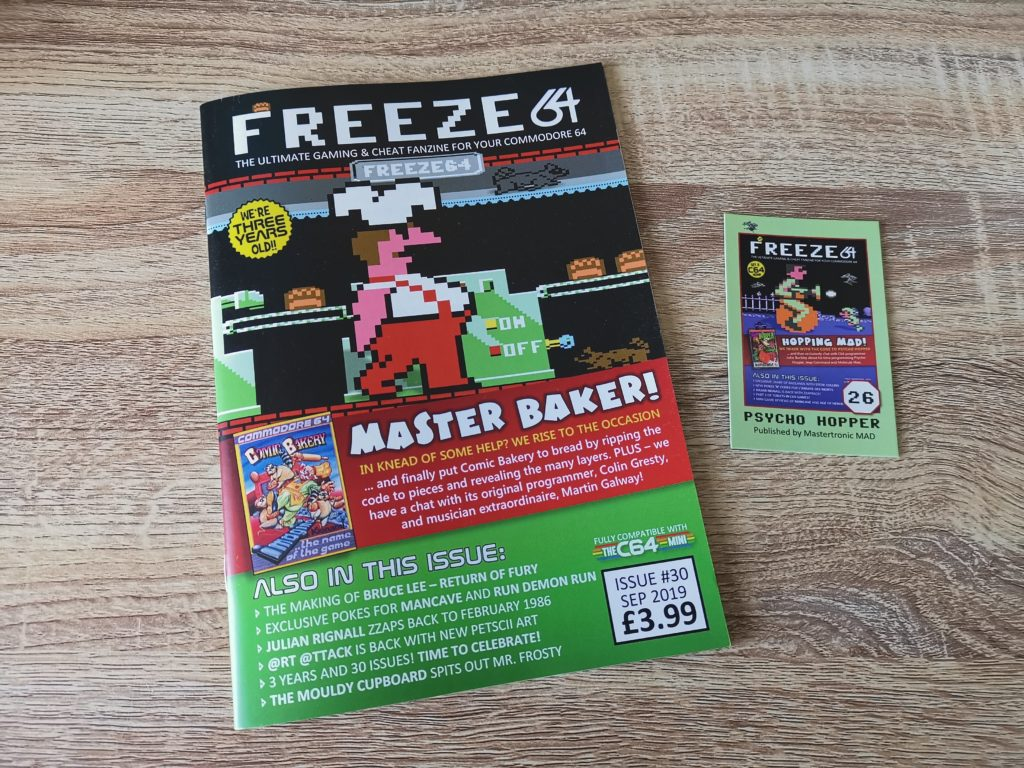 Freeze 64 Issue 29Freeze 64 Issue 30