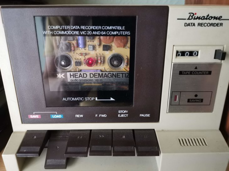 Binatone Data Recorder - Demagnetising Tape head