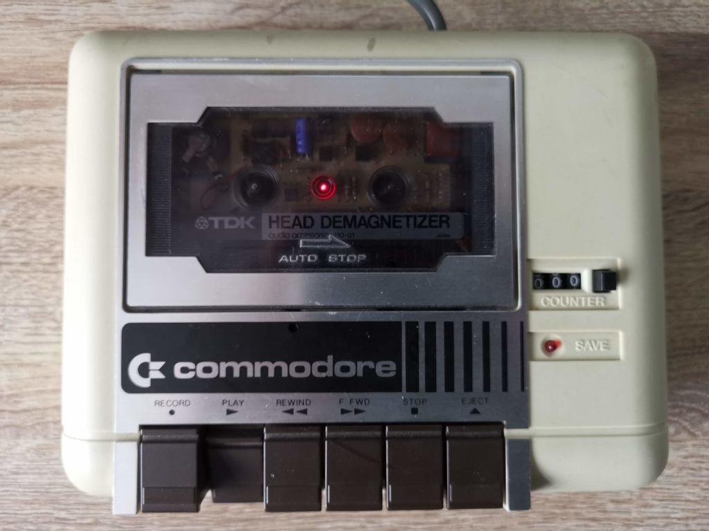 Commodore C2N - Demagnetising Tape head