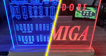 Retro Acrylic LED Signs