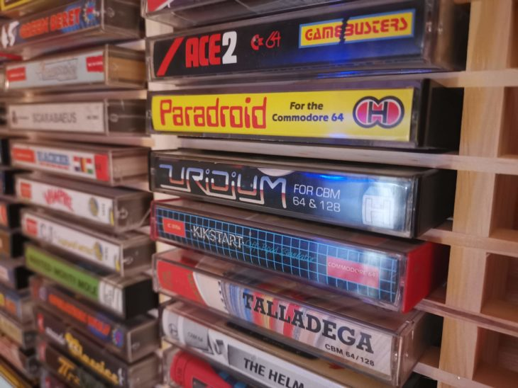audio tape cassette storage