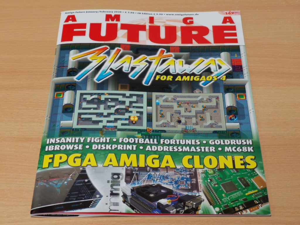 Amiga Future #142 Front Cover