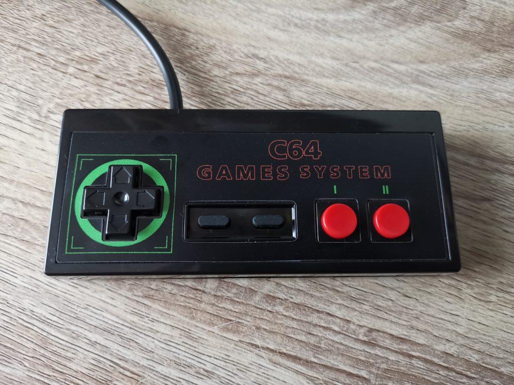 Commodore 64GS Gamepad