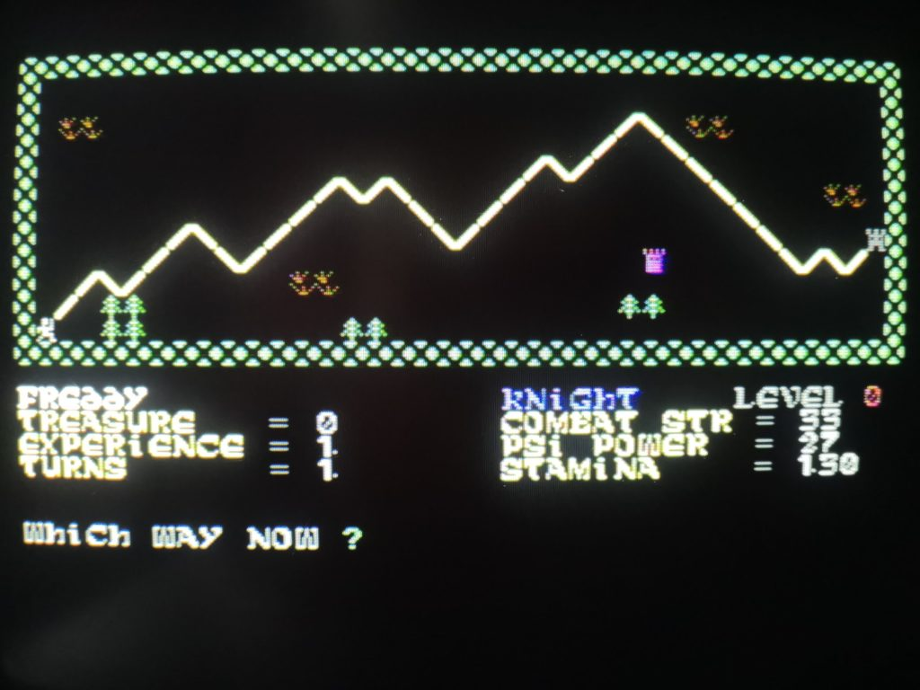 The Valley Game Screen