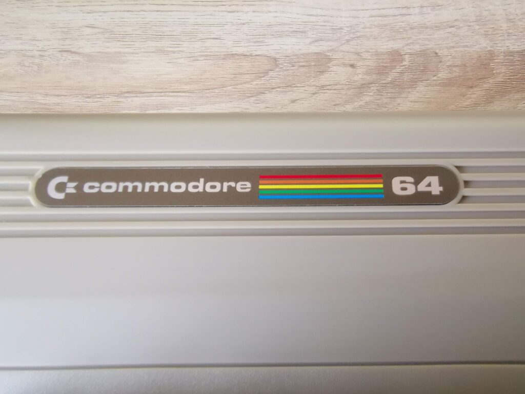 Replacement C64 badge