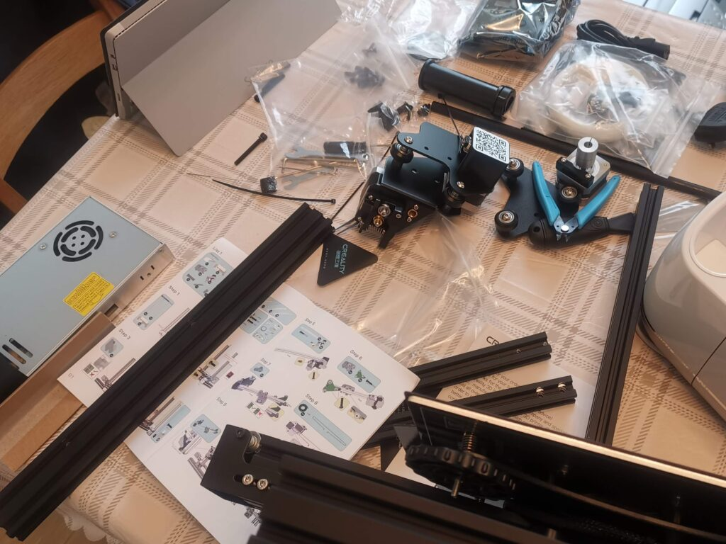 Ender 3 Pro Parts