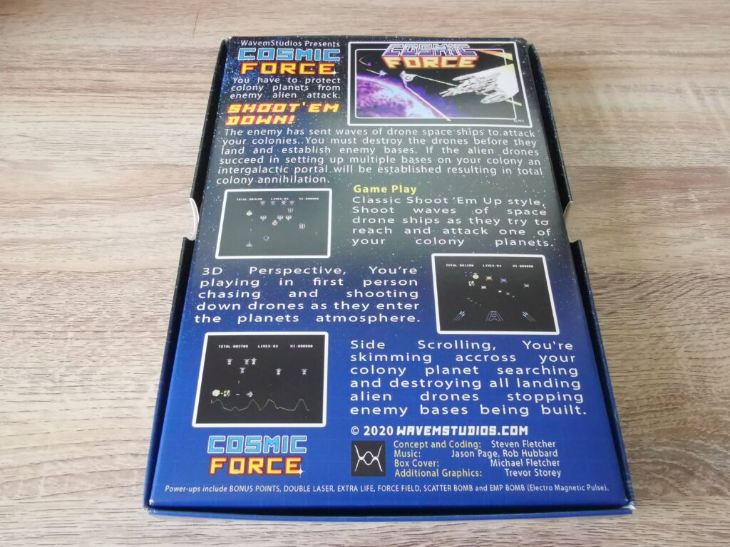 Cosmic Force Review
