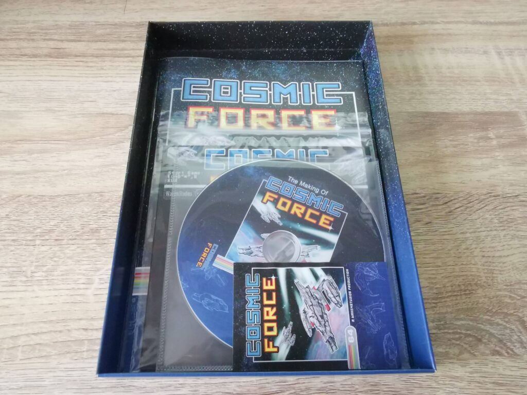 Cosmic Force Box Contents