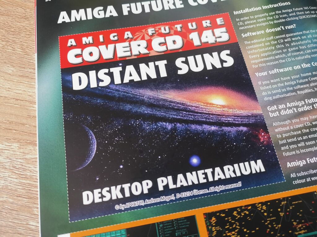 This is a preview of what you can expect to find in the latest edition of the long running Amiga Future magazine, Amiga Future #145.