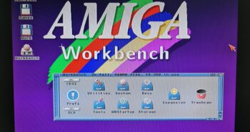 Amiga Workbench Wallpaper