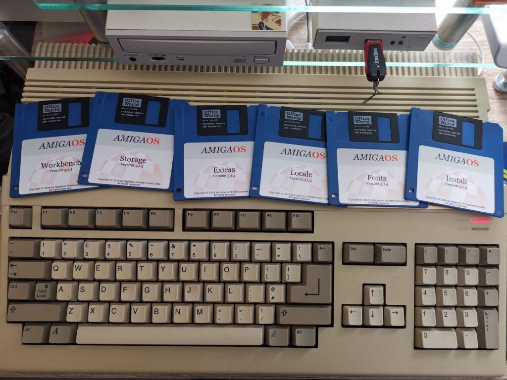 Amiga OS 3.1.4 Disks