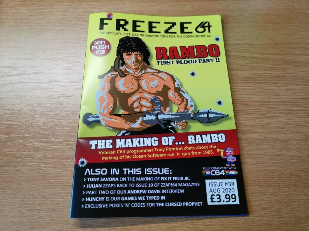 Freeze 64 Issue #38