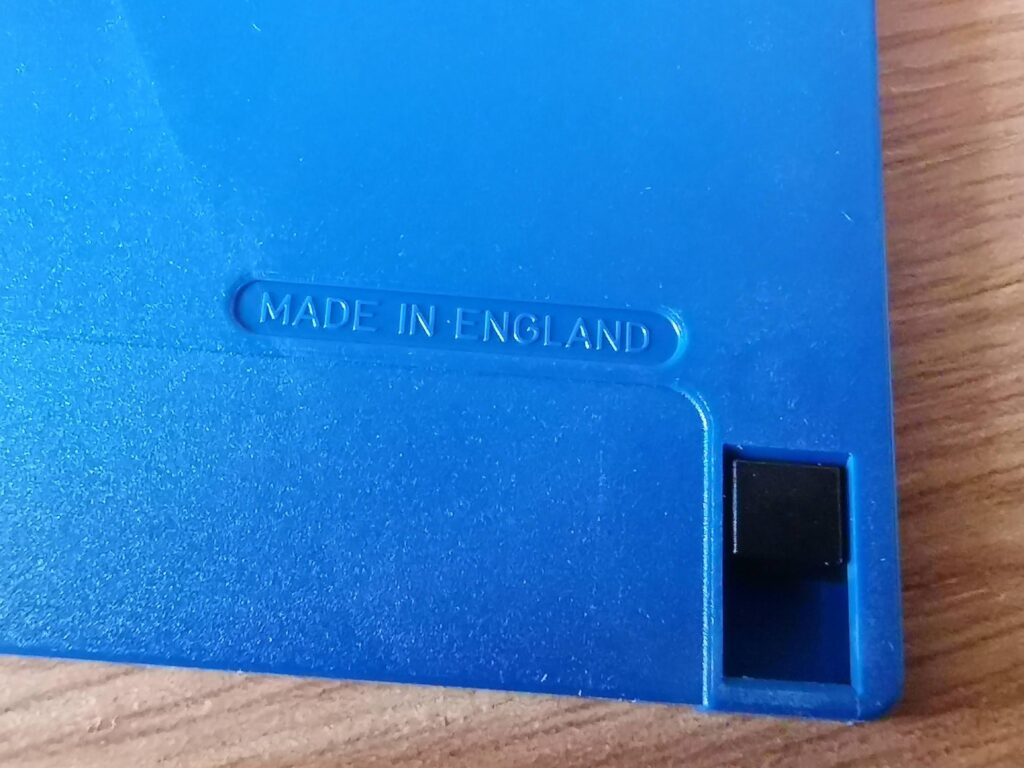 "3.5"" Disk made in England"