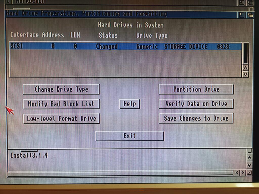 Amiga HDToolBox