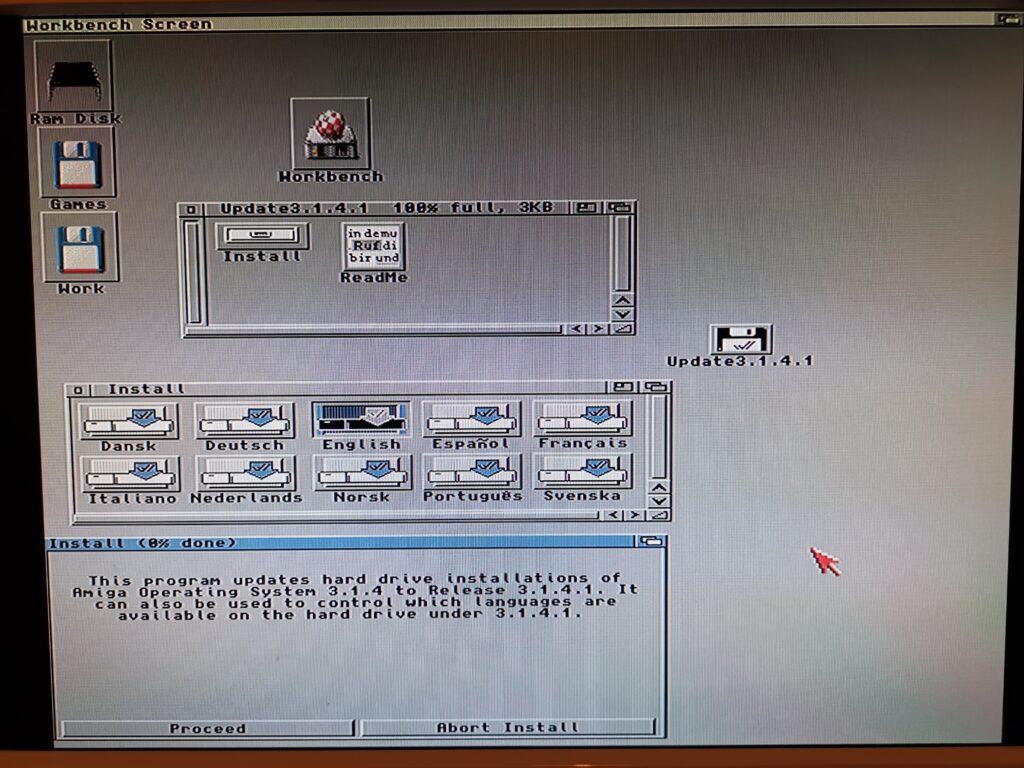Amiga OS 3.1.4.1 Update