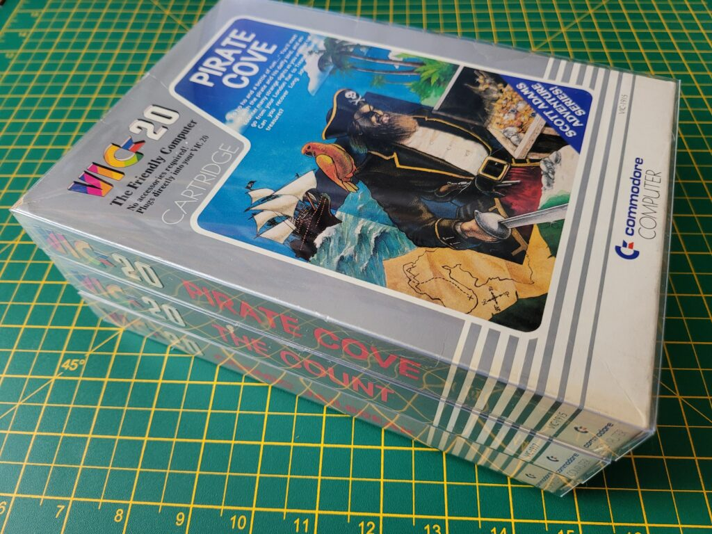 VIC20 Game Box Preservation