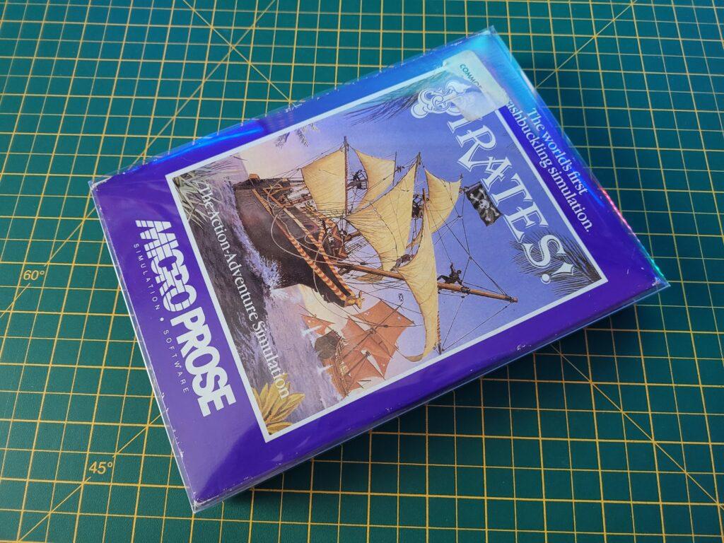 C64 Microprose box protector