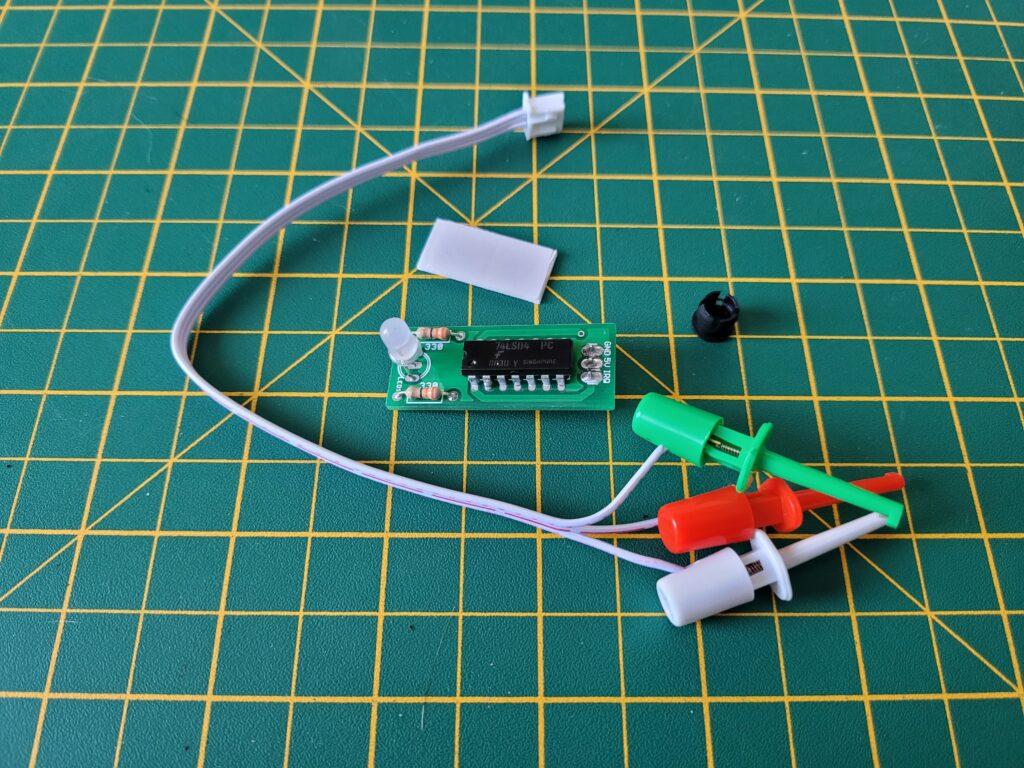 Commodore 64 IRQ LED Mod