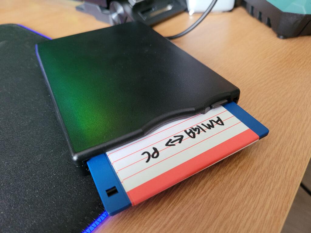 Amiga CrossDOS disk.