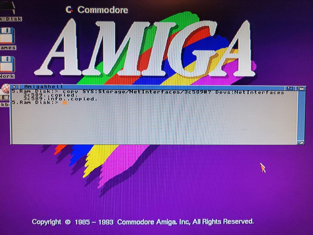 Amiga TCP/IP Stack