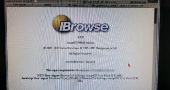 Amiga Web Browser