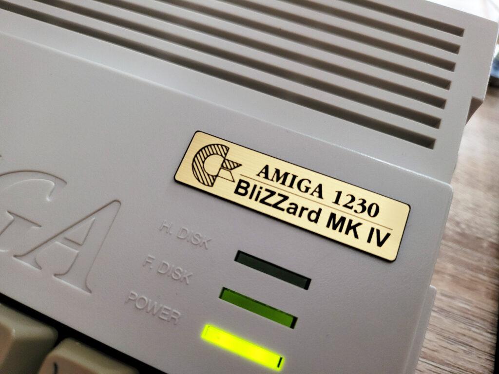 Blizzard A1200 Badge