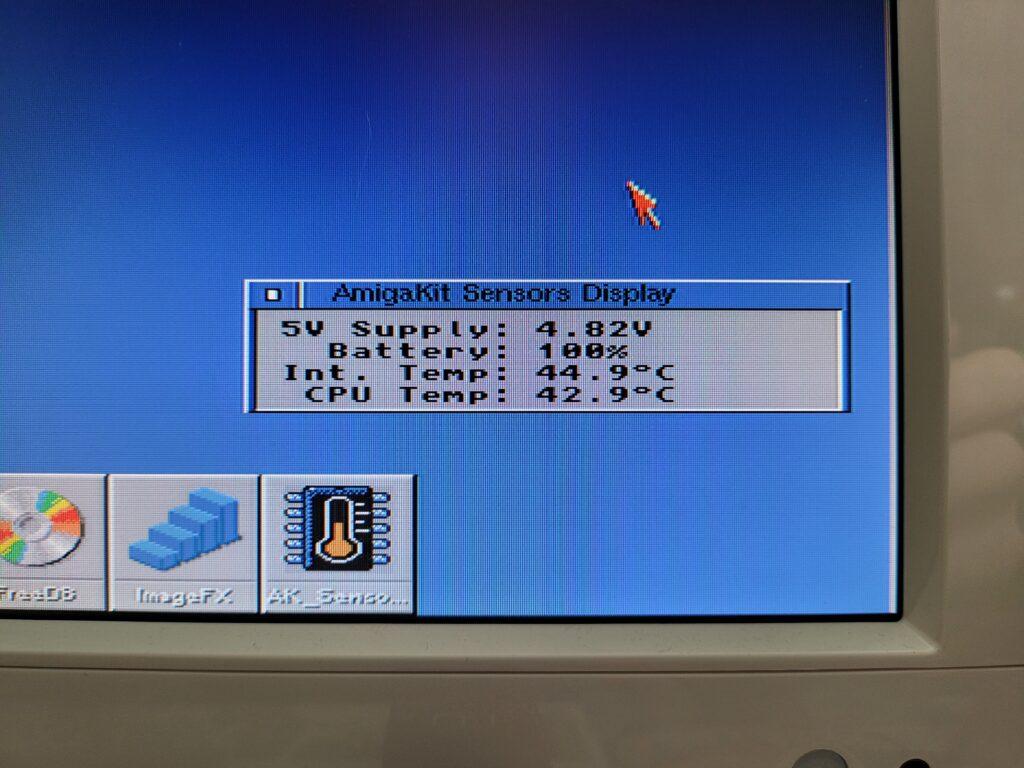 AmigaKit Sensor